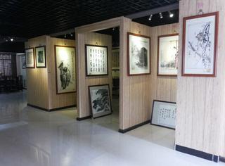 字画展厅效果图欣赏