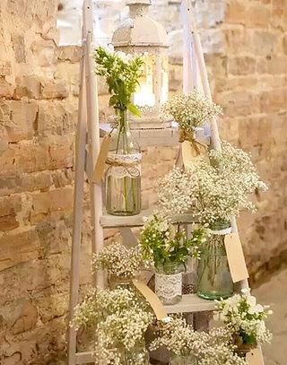 超美的梯子花架设计