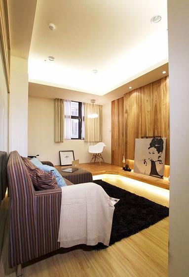 43平米小户型空间客厅设计