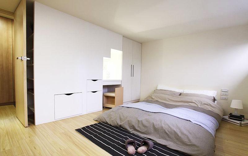 43平米小户型空间卧室设计