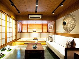 禪意日式裝修風格 兩室一廳舒適生活