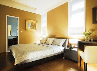 现代简约风格两室一厅舒适140平米以上装修效果图