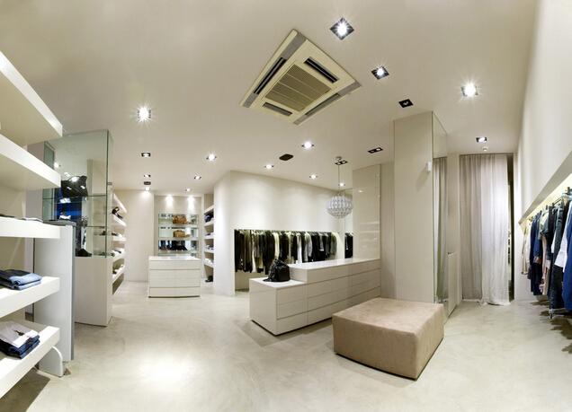 服装店室内设计效果图片
