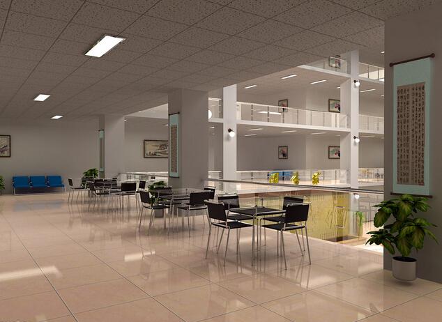 学生图书馆设计室内装修图片
