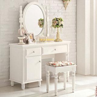 白色优雅梳妆台效果图