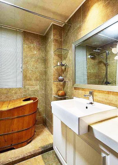 两室一厅装修图卫生间设计