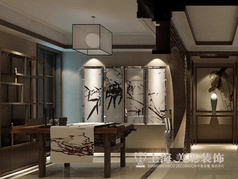丰产路家属院120平方三室新中式装修效果图图片