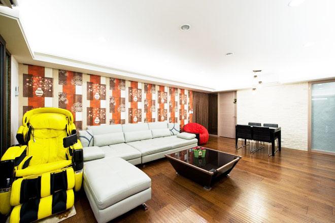 简约风格两室一厅140平米以上装修效果图