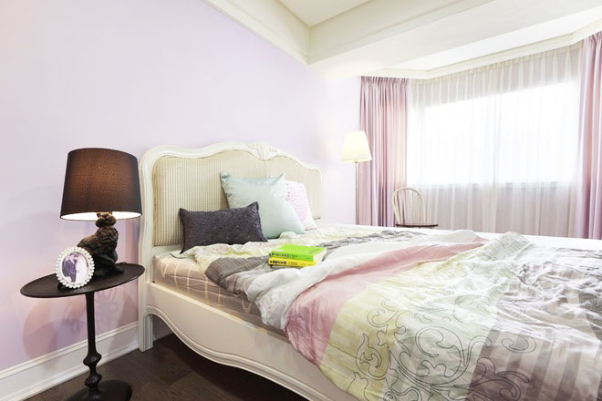 124平米简欧风格装修卧室设计