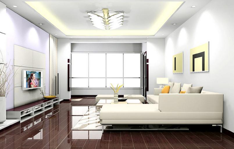 普通家庭客厅要怎样装修高清图片