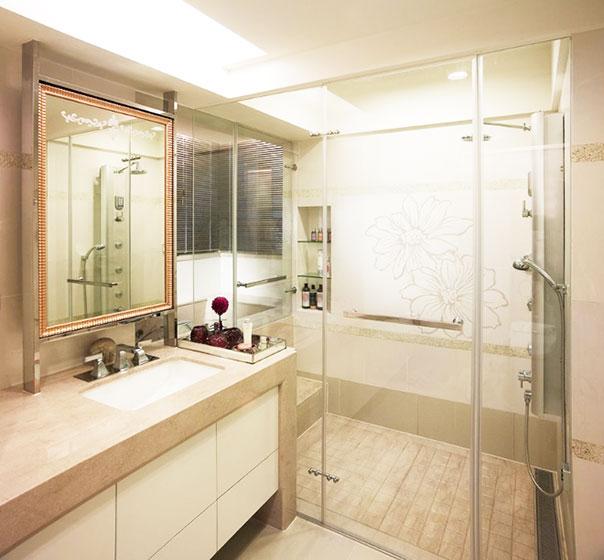 178平米现代装修风格卫生间设计