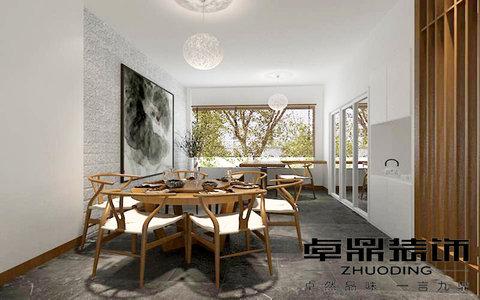 装修效果图,半山墅禅式风格装修案例效果图-齐家装修网图片