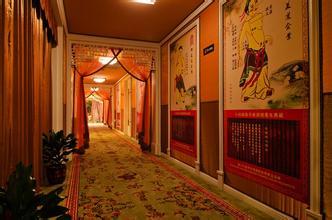 美容院中式装饰室内效果图片