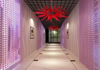 美容院走廊设计装饰室内效果图