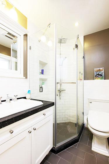 85平米房屋装修效果图卫生间设计