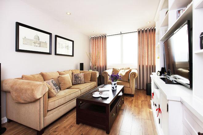 85平米房屋装修效果图客厅