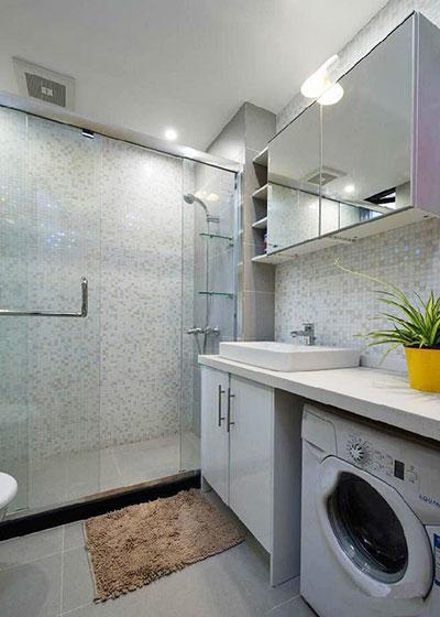 90平米房屋装修效果图卫生间设计