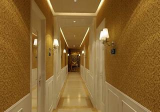 美容院走廊效果图片欣赏