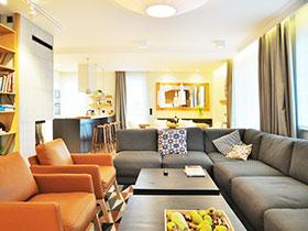 简约两室一厅装修 大气空间设计
