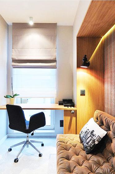 简约两室一厅装修书房设计