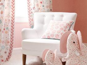 嬌艷欲滴 13款粉嫩窗簾設計
