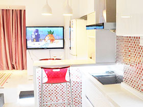 时尚简约风打造30平米loft公寓设计