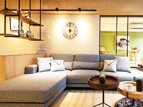 78平米旧房改造 小户型装修实例