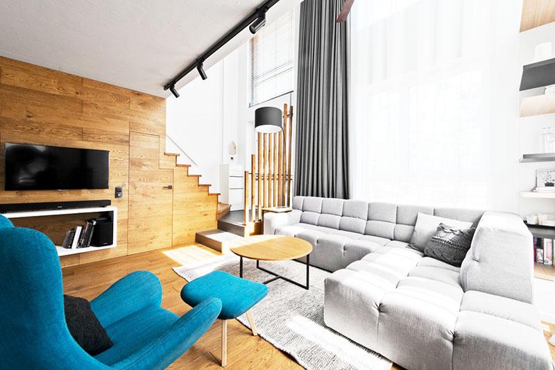 loft风格80平米装修效果图