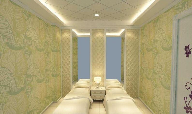 美容院大房间装修图片