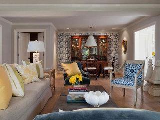 青花瓷装饰客厅