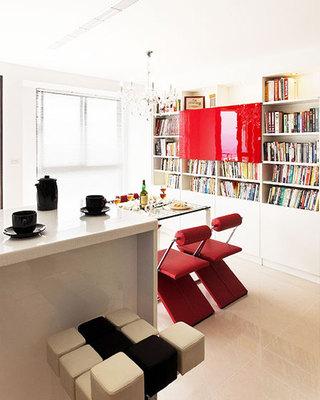 78平米公寓装修效果图吧台设计