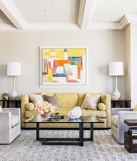 100平方装修效果图客厅设计
