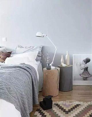 温暖舒适秋天卧室布置效果图