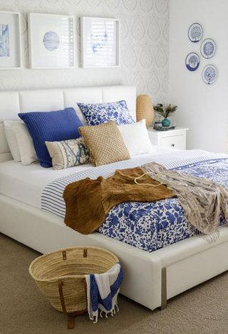 青花瓷卧室设计