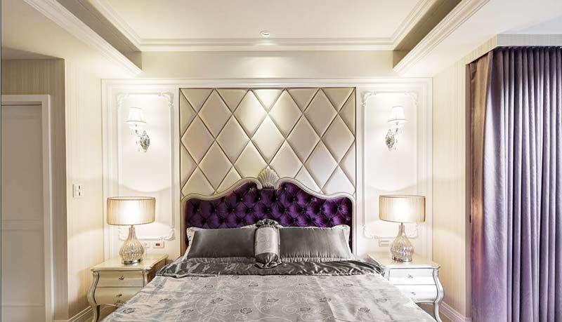 欧式风格两室一厅130平米效果图