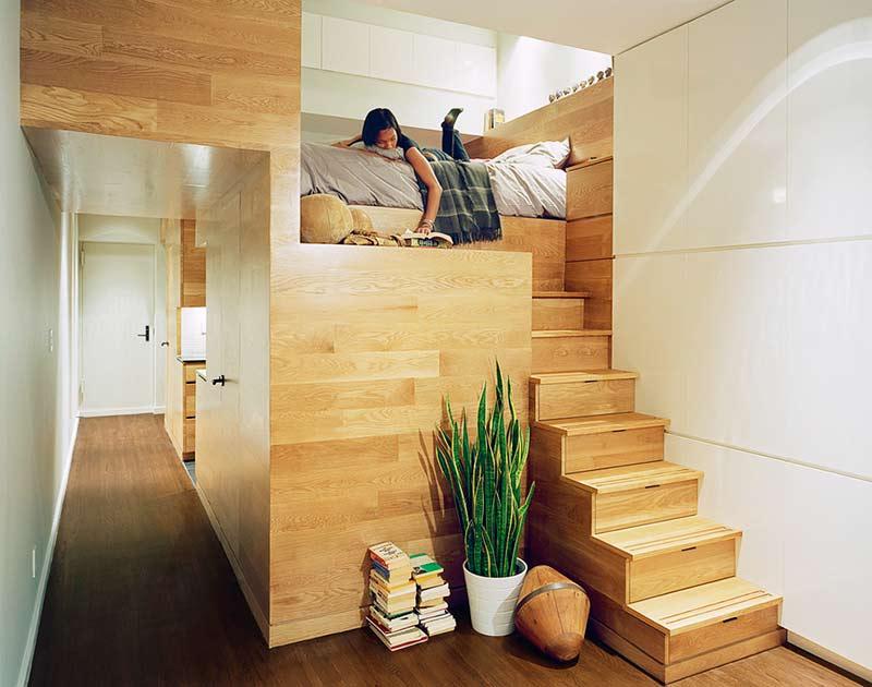 一室户设计效果图卧室设计