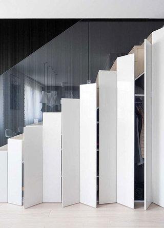 楼梯巧收纳 11个楼梯改造方案1/11