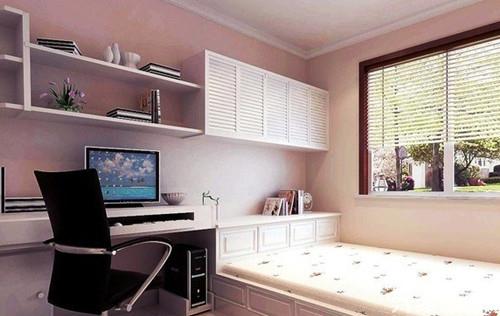 小户型卧室装修三,利用空间死角