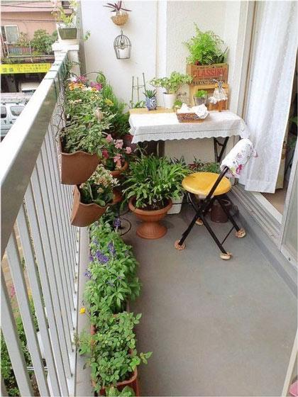 花园式阳台设计