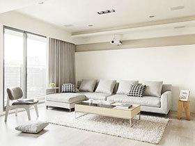 素色家也别有一番风味  简约两居室装修