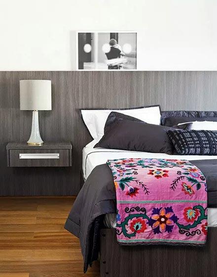 简约卧室布置效果图