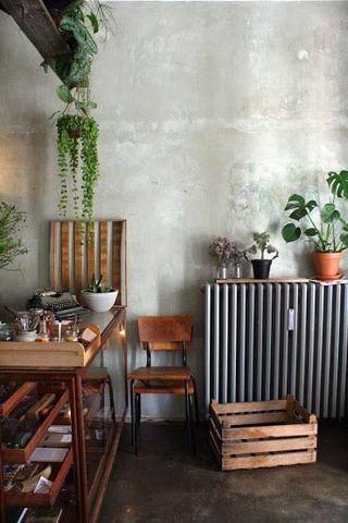 自然森系餐厅设计