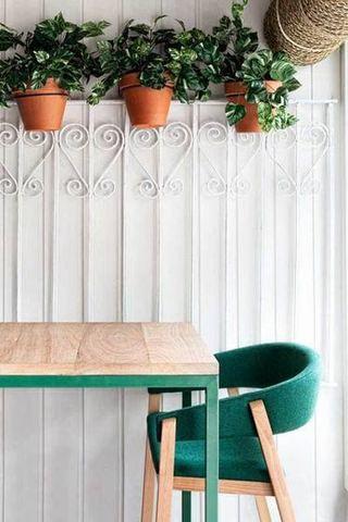 典雅森系餐厅设计