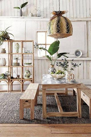 舒适自然森系餐厅设计