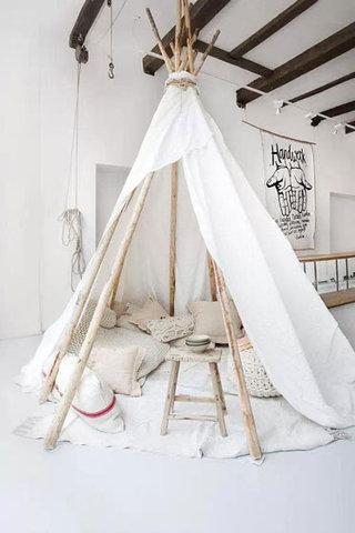 简约儿童帐篷效果图