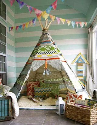 清新儿童帐篷设计效果图