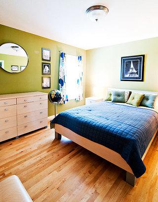 92平米三居室装修案例卧室设计
