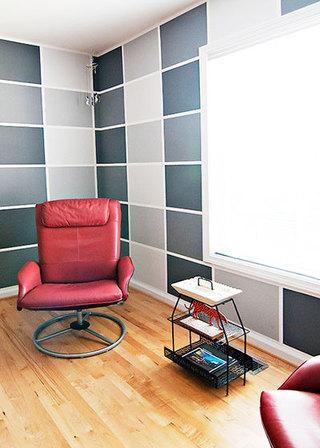92平米三居室装修案例书房设计