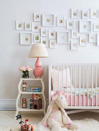 可爱明亮婴儿房效果图