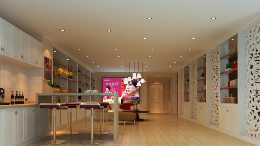 美容院大厅设计效果图大全